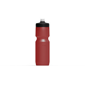 Cube Feather Drinking Bottle 750ml red